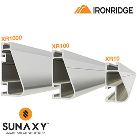 IronRidge XR100 Rail - 11ft