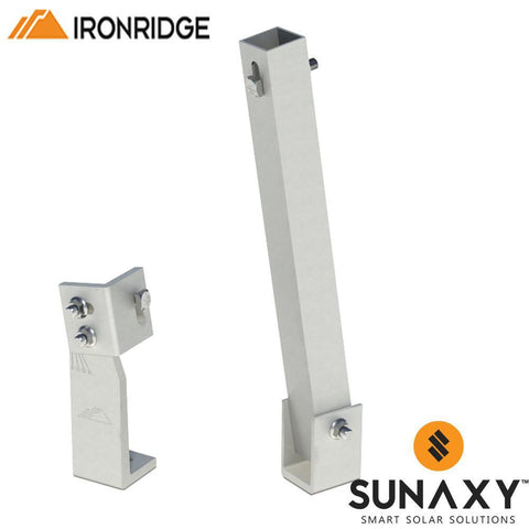 "IronRidge 25"" Tilt Leg & Bracket"