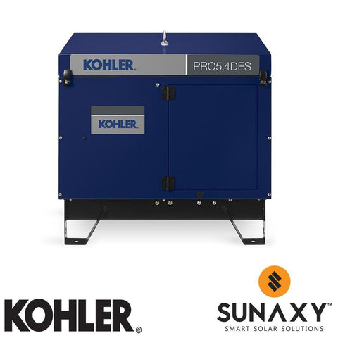 Kohler PRO 5.4 DES Diesel with Electric Start Portable Generator
