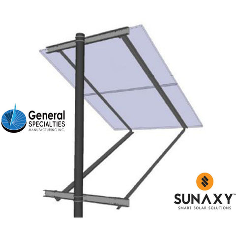 General Specialties SOP-X Side of Pole Mount (for Panel Sizes: C)