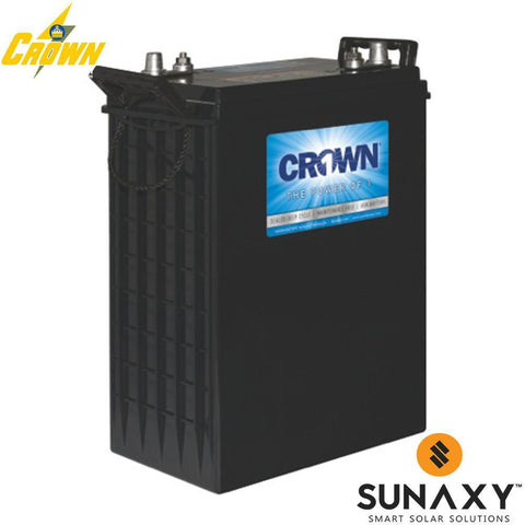 Crown AGM 780 Ah 48 VDC 37,440 Wh (16) Battery Bank