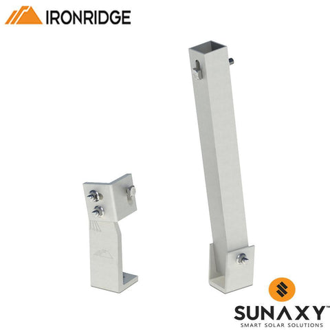 "IronRidge 10"" Tilt Leg & Bracket"