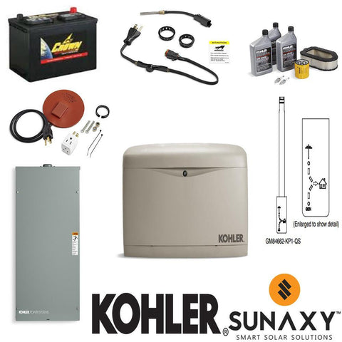 20kW Kohler Full-Home Backup Generator Package