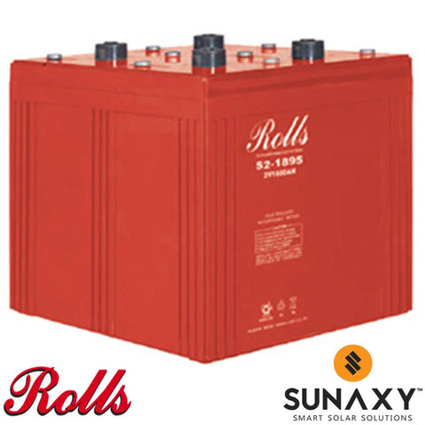 Surrette / Rolls S2-1895 AGM Battery