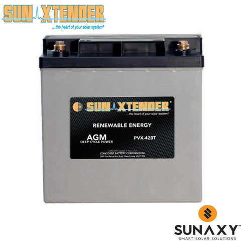 Sun Xtender PVX-420T AGM Battery