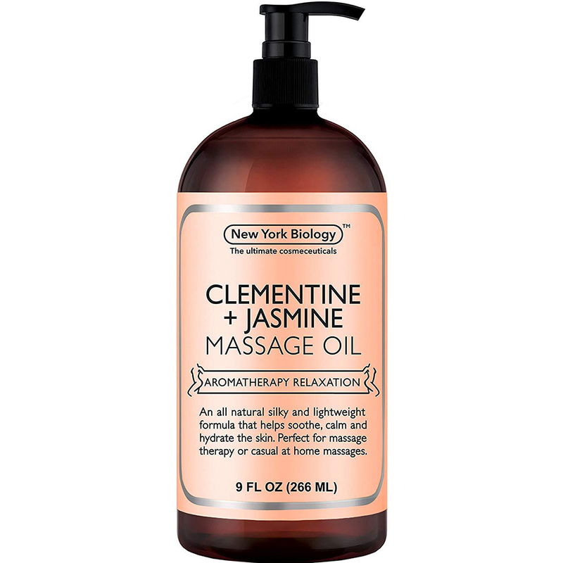 Clementine and Jasmine Massage Oil