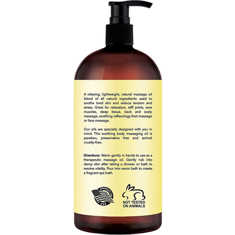 Ylang Ylang and Ginger Massage Oil