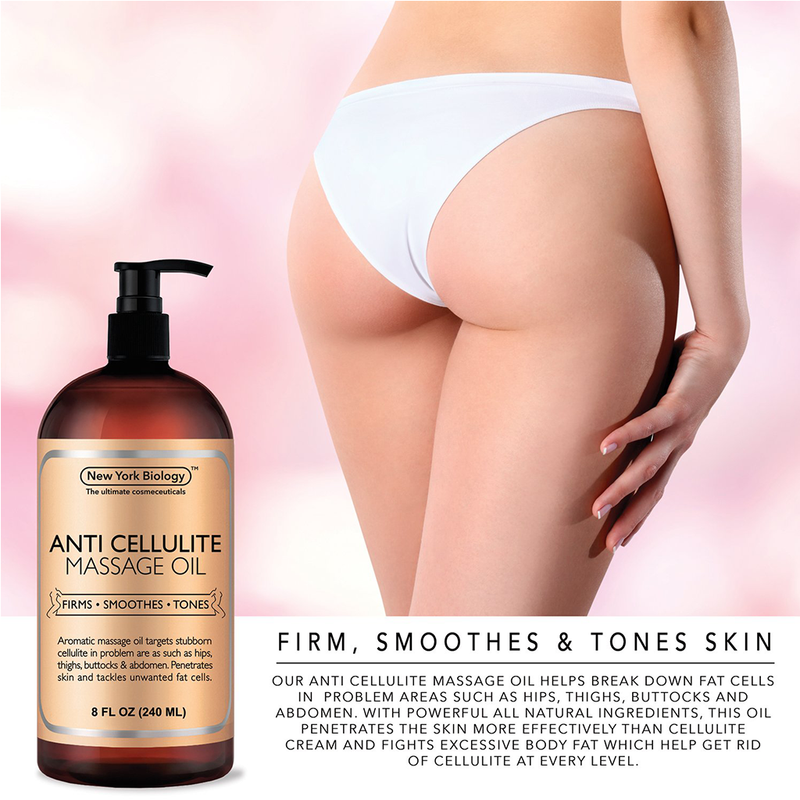 Anti Cellulite Treatment Massage Oil