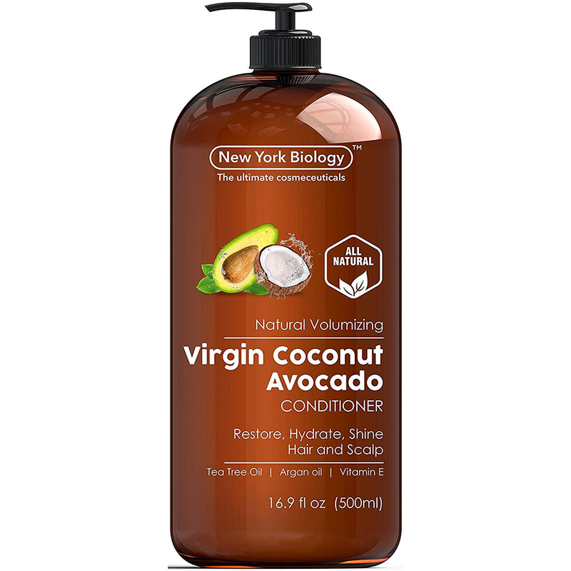 Apple Cider Vinegar Shampoo + Coconut Avocado Oil Conditioner