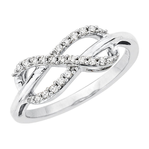 Katarina.com - Infinity Diamond Ring