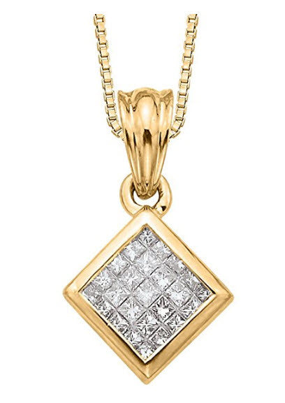 Baby Princess Diamond Pendant-Katarina:
