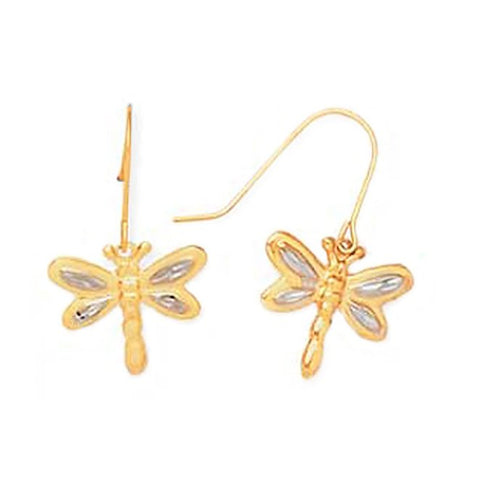 Katarina.com - Fun Jewelry | Dragonfly Diamond Earrings | Funky Jewelry | Happy Jewelry