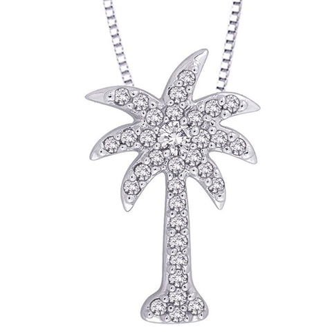 Katarina.com - Palm Tree Fashion Pendant