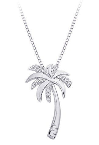 Diamond Pendant - Palm Tree Style - From Katarina