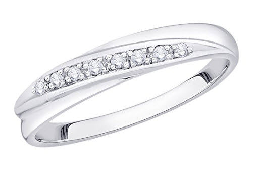 Diamond Wedding Band from Katarina