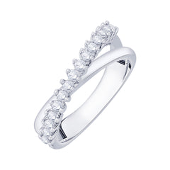 Diamond Fashion Ring in Sterling Silver  (1/3 cttw)