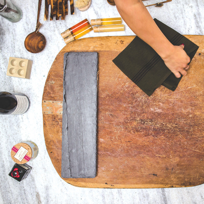 Stock your kitchen with chef's quality goodies and tools, serve offerings on rustic boards and chic serveware, and find delicious gourmet grocery delicacies for you next gathering.