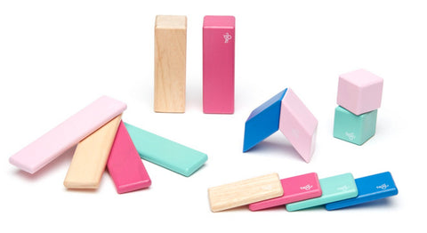 Magnetic Wooden Blocks - Set Collections, Toy, tegu - LIESAS