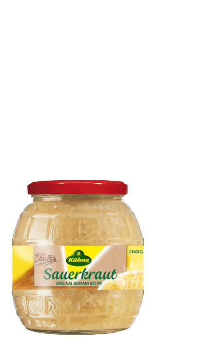 Vegetables Condiments - Kuhne Traditional German Barrel Sauerkraut