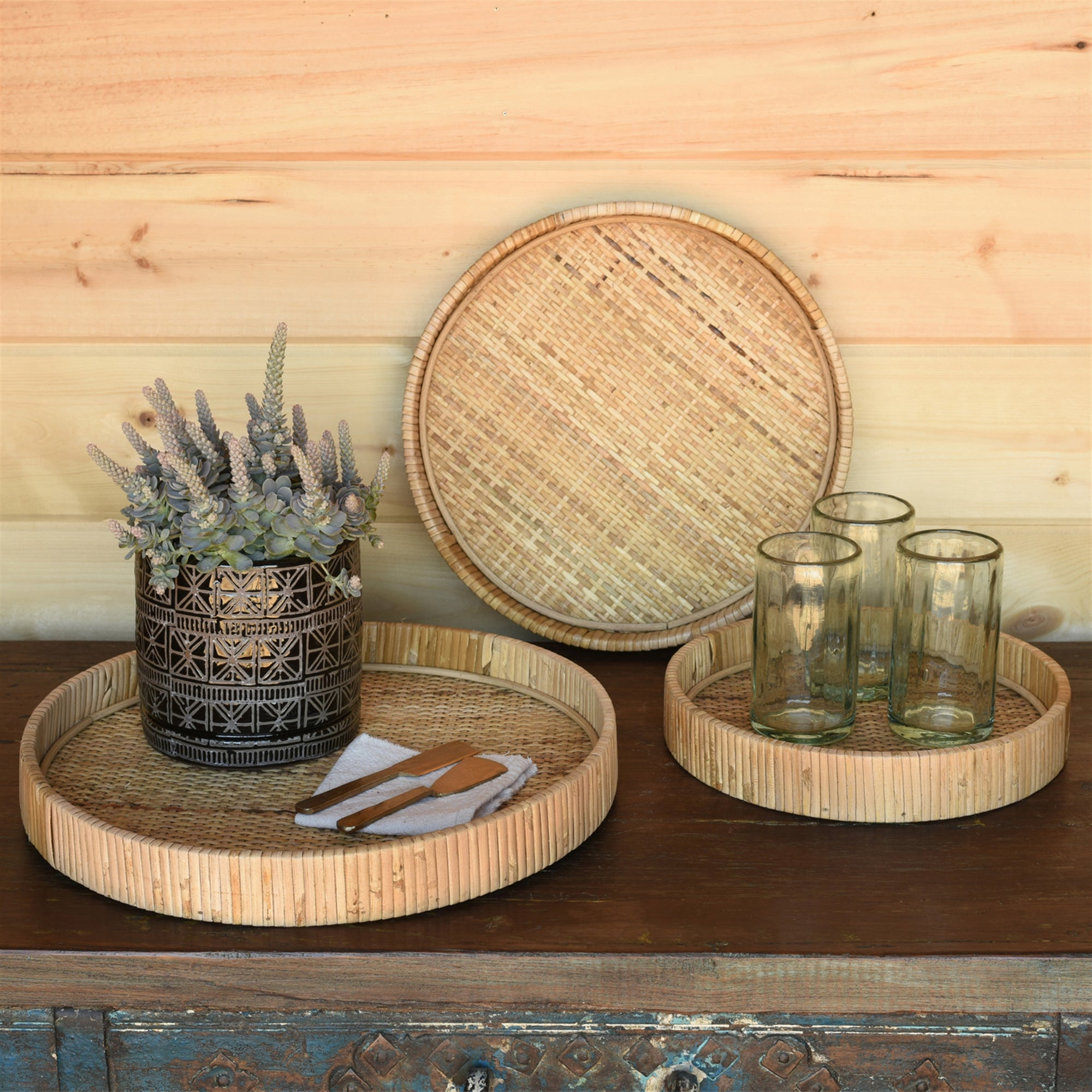 Rattan Tray Collection