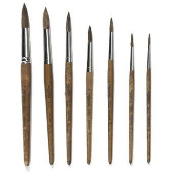 Paint Brush - Round Tip, Kinder Art, mercurius - LIESAS