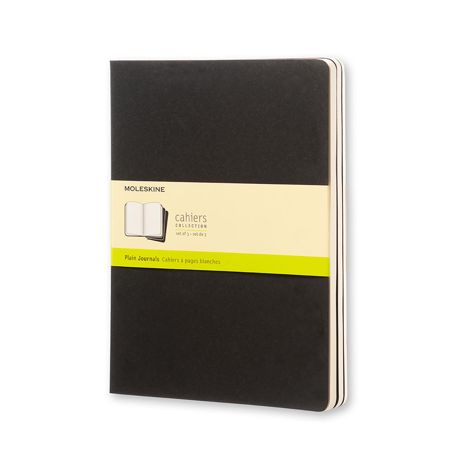 Moleskine Cahier Journal Black, Book, Chronicle Books - LIESAS