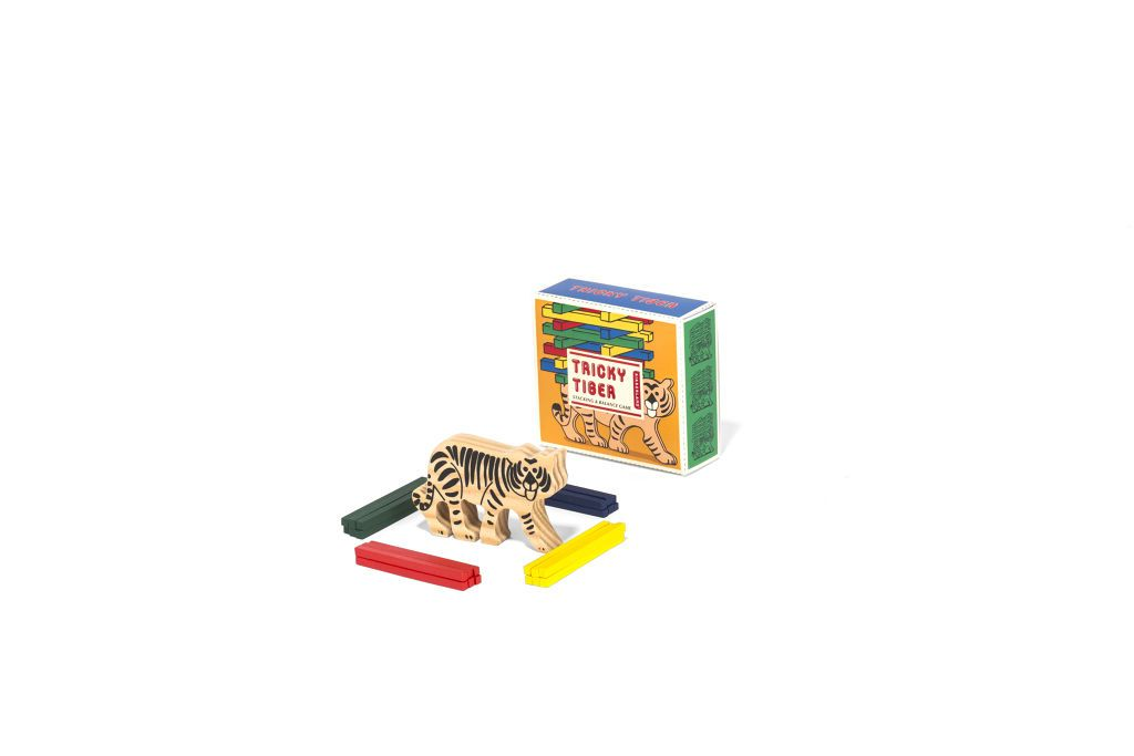 Tricky Tiger Wooden Game