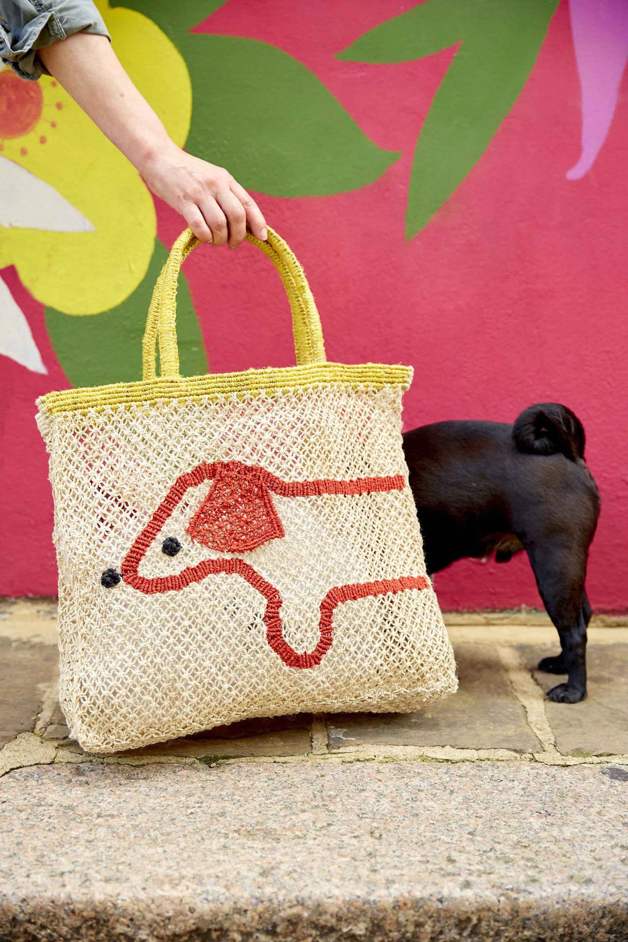 The Jacksons -  Handmade, Jute Beach Bag Collection, Bag, Jacksons - LIESAS