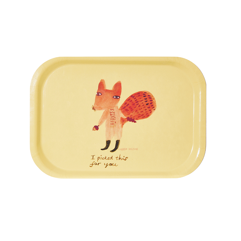 Donna Wilson Tray- For you Mini, Plate, Donna Wilson - LIESAS