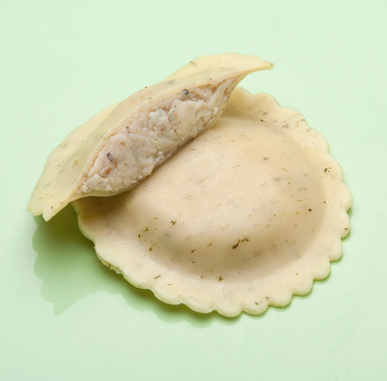 Pasta - Fresh Ravioli, Gorgonzola with Toasted Walnuts and Endive, 40/bag, Grocery, Cucina Della Cucina - LIESAS