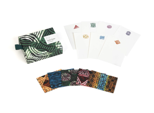Little Notes: African Batik: 30 Writing Sheets and Envelopes