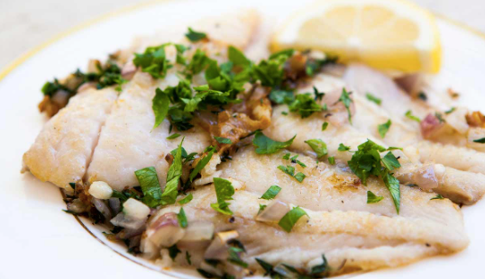 Seafood - Petrale Sole Fish, Locally Fresh Caught, Frozen Fresh