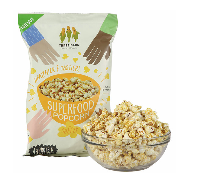Snacks - Three Dad's Superfood Popcorn