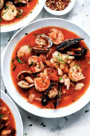 From Our Schools Kitchen to Yours - Cioppino, Classic Seafood Stew FROZEN FRESH