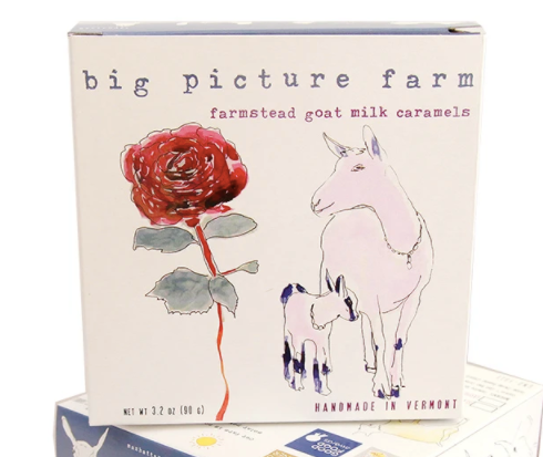 Confections - Big Picture Farms Caramels Mom & Kid Gift Box, Sea Salt & Vanilla, 11 piece