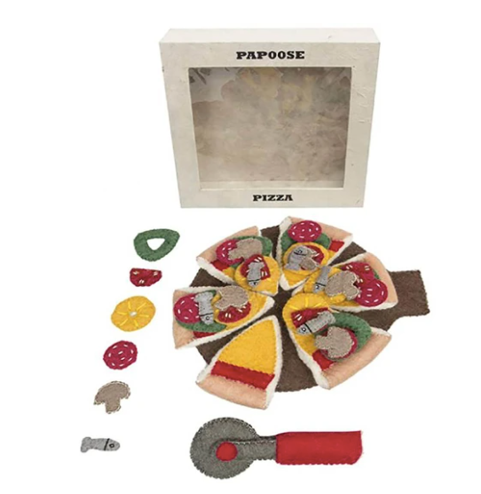 Papoose Felt Pizza & Server