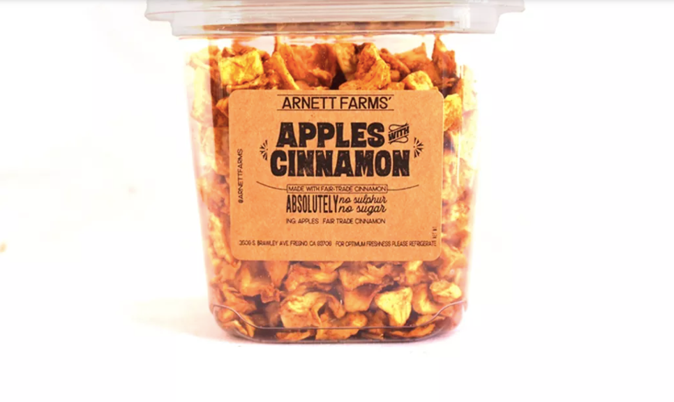 Arnett Farms Dried Fruit, Apples with Cinnamon