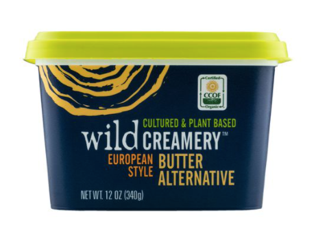Dairy - Wild Creamery Plant Based Cultured Butter, European Style, Organic, 12 oz