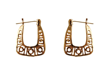 Filigree Halo Hoop Earrings by Love Tatum, Earring, Love Tatum - LIESAS