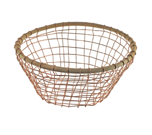 Wire & Cane Basket Collection