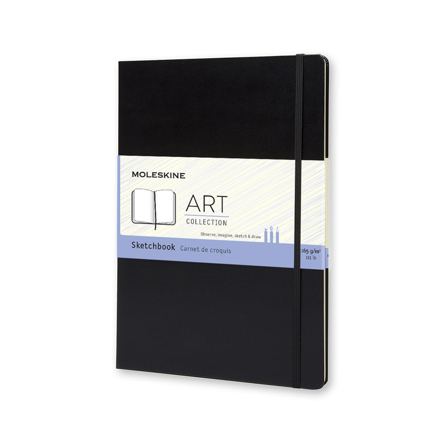 Moleskine Sketchbook A4 Hard Cover, Book, Chronicle Books - LIESAS