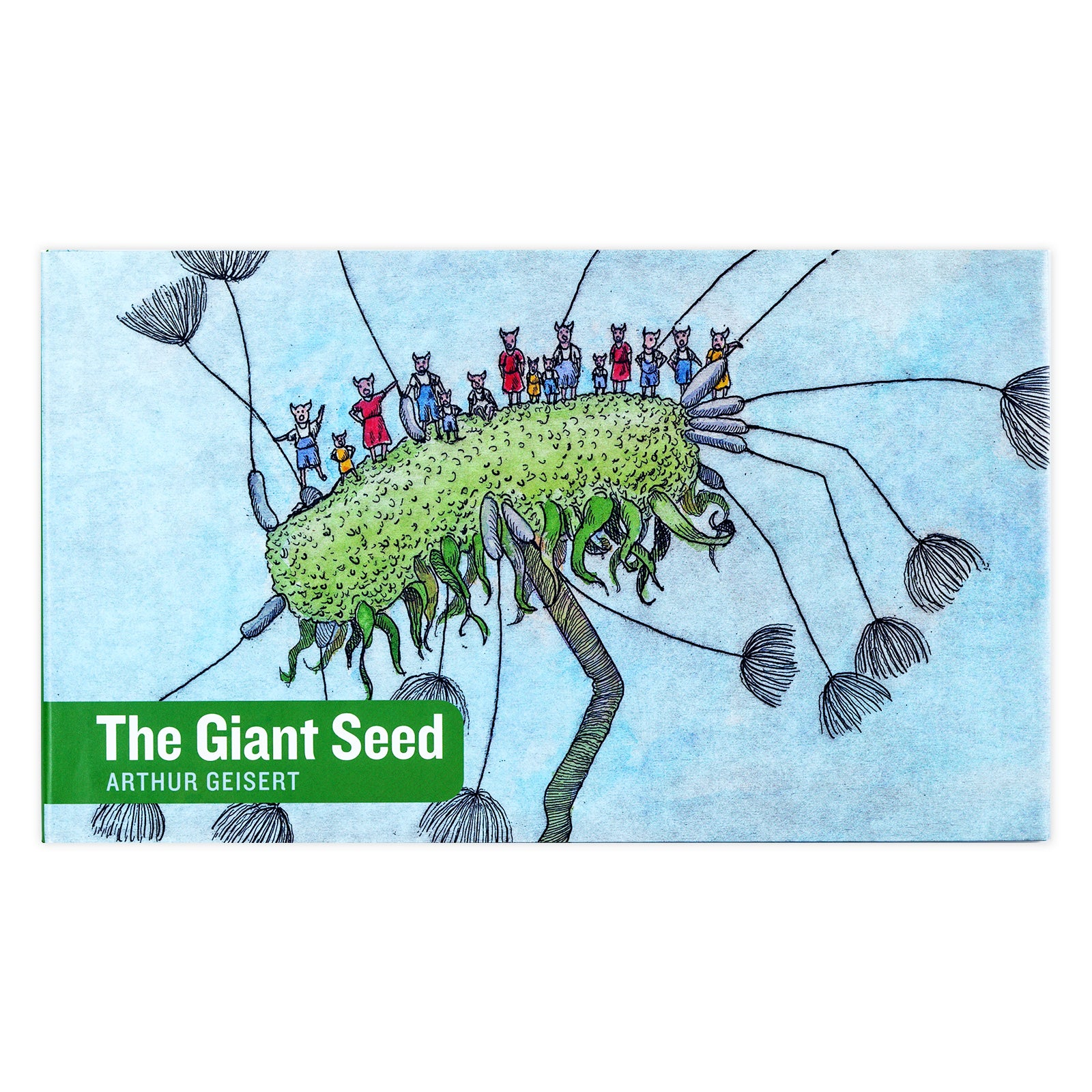 The Giant Seed, Book, Ingram - LIESAS