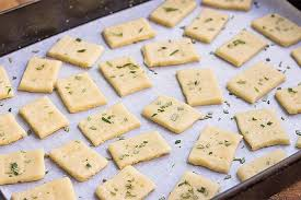 From Our Schools Kitchen to Yours Snacks - Parmesan & Rosemary Cracker Dough, Grocery, Anneliese Schools - LIESAS
