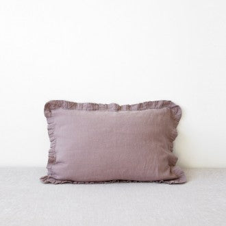 Washed Linen Frilled Pillow Case Collection by Linen Tales, Pillow Case, Linen Tales - LIESAS