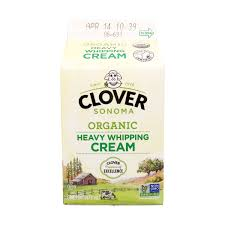 Dairy - Clover Organic Heavy Whipping Cream, Grocery, Anneliese Schools - LIESAS