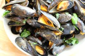 Seafood - Mussels, Whole Shell, Grocery, Anneliese Schools - LIESAS