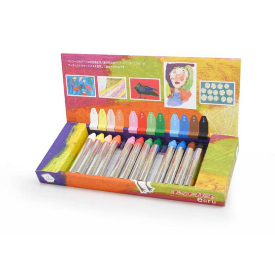 Kitpas - Crayon Collection, crayons, Focus America Corp. - LIESAS