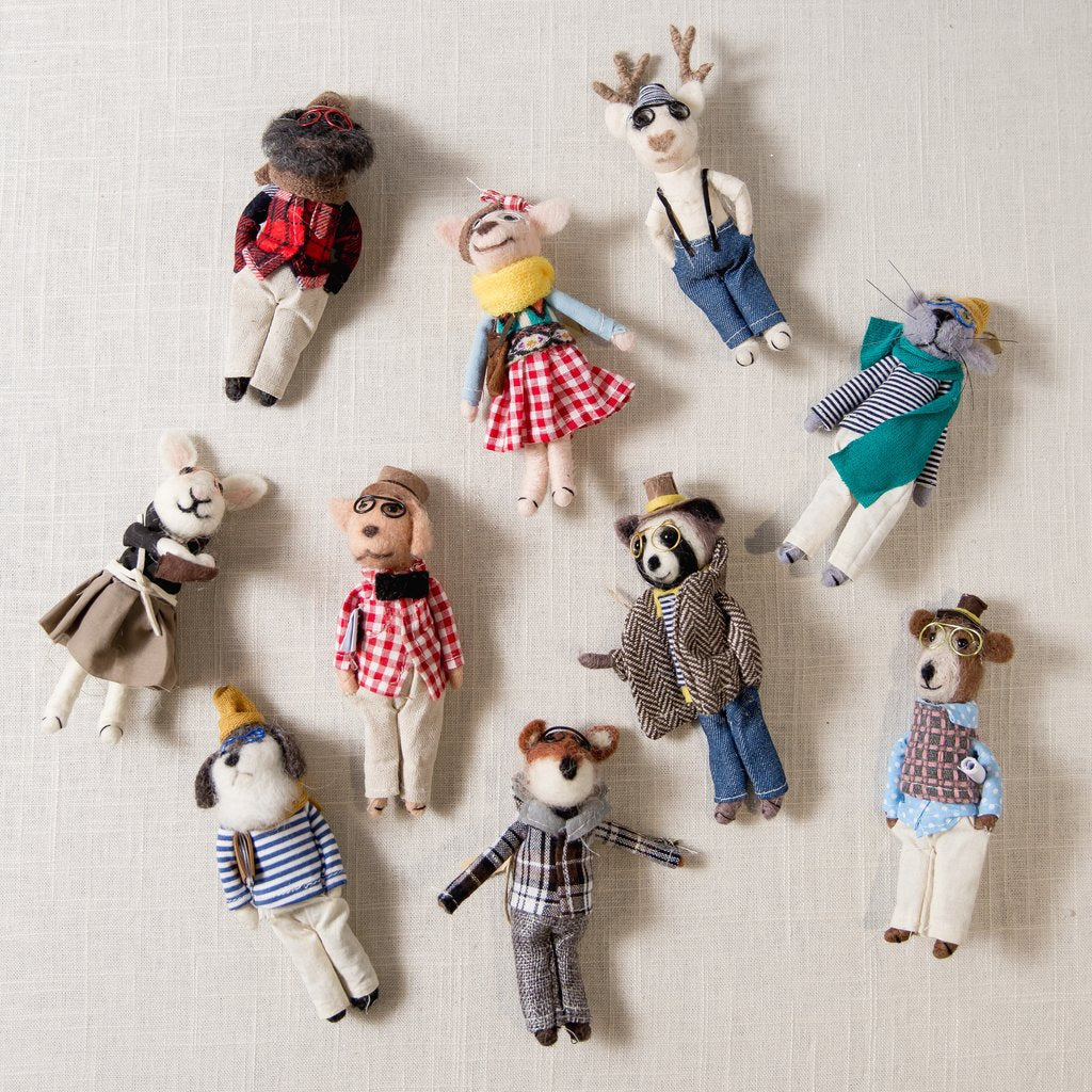 Holiday Ornament Collection - Hipsters, Ornament, roost - LIESAS