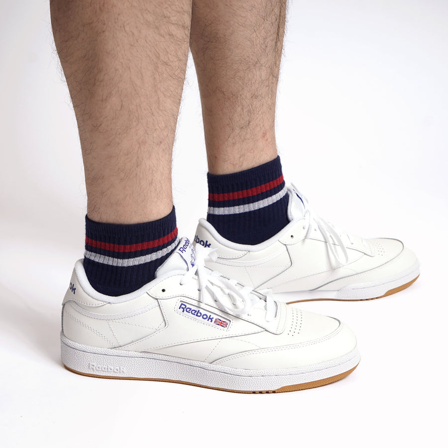 American Trench Kennedy Quarter Crew Socks