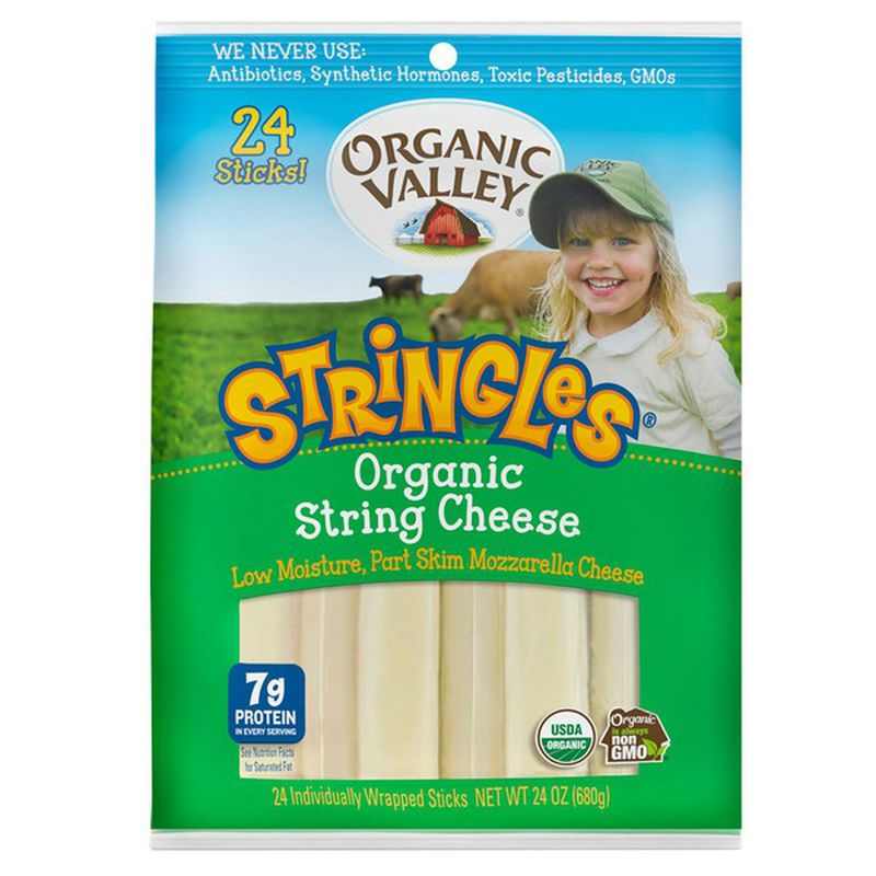 Dairy - Organic Valley String Cheese